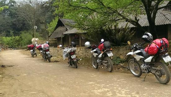 Motorbike tour in North Vietnam, Ha Giang
